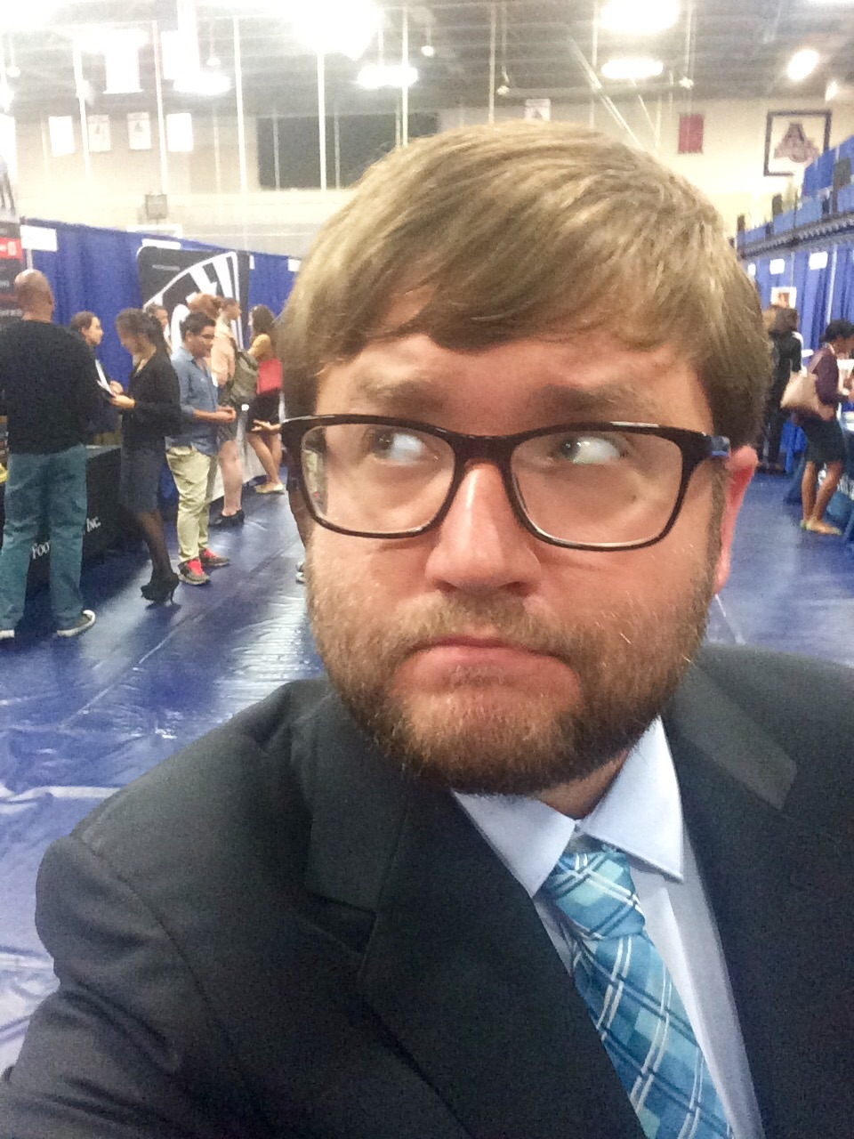 In Which James Fruit Went to the AU Fall Job & Internship Fair