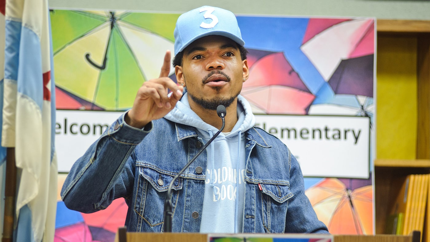 On Chance the Rapper