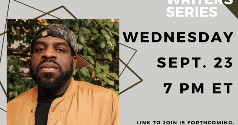 Visiting Writers Series: Hanif Abdurraqib